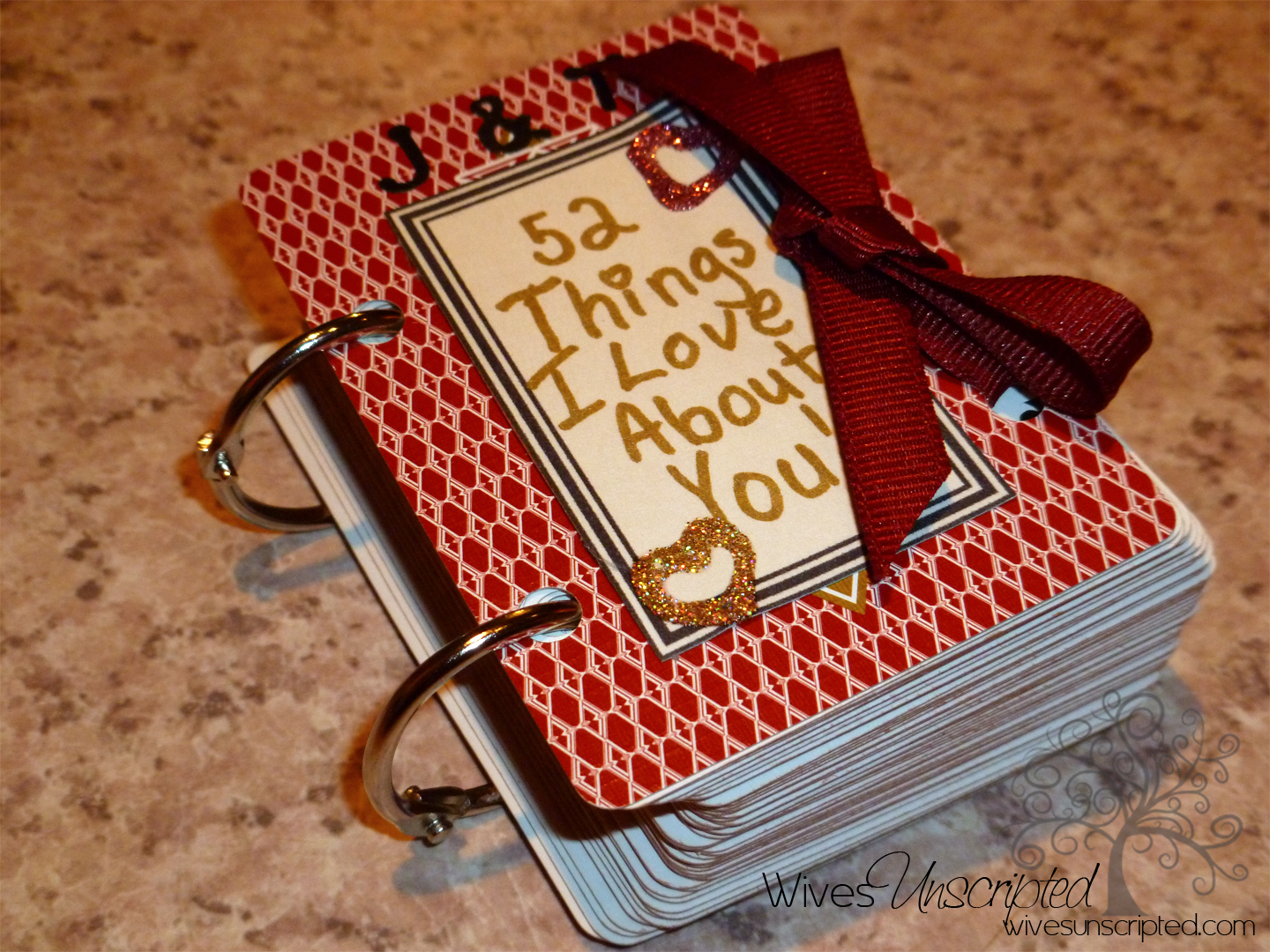 I Love You Crafts 52 Things I Love About You Craft Wivesunscripted