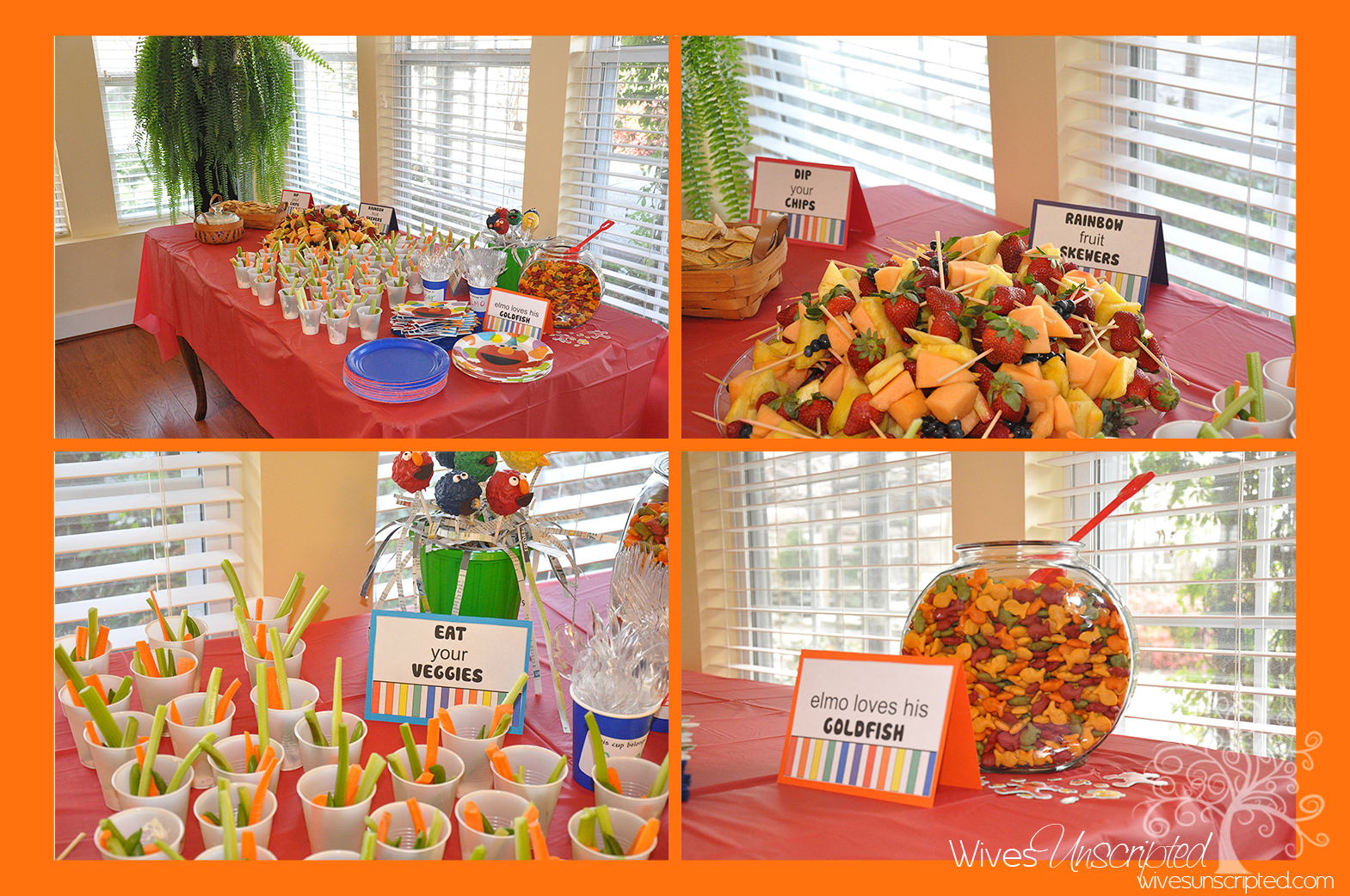 Sesame street 2nd birthday party wivesunscripted for 2nd birthday party decoration