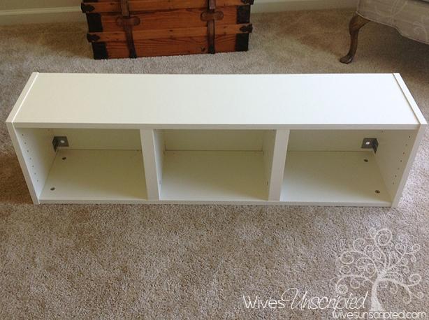 bookshelf bench plans