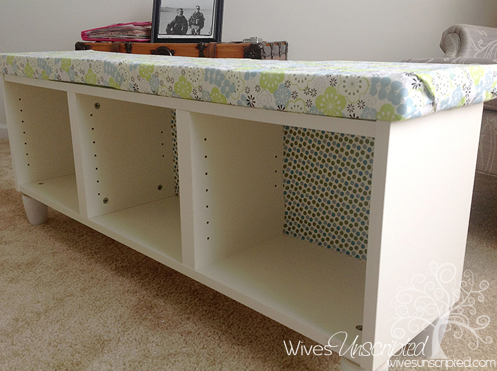Pinterest Challenge Bookshelf To Bench Wivesunscripted